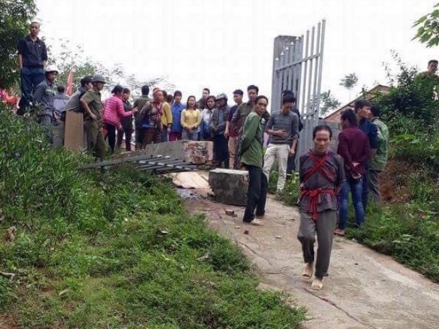 Lào Cai: Sập cổng trường, một học sinh tử vong tại chỗ