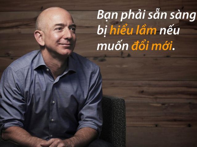 9 câu nói tiết lộ bí quyết thành công của tỷ phú Jeff Bezos