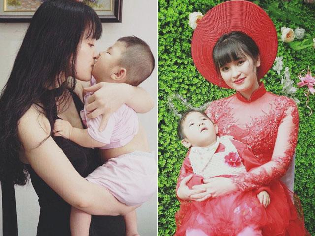 Cô gái Lào Cai nhận nuôi em bé suy dinh dưỡng đã theo chồng về dinh