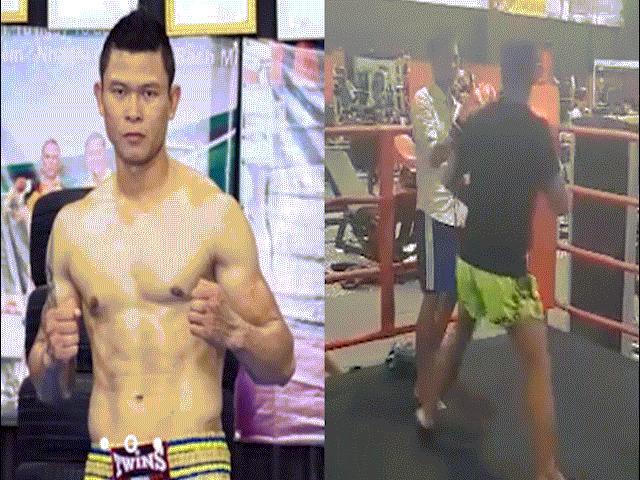 """Bàng hoàng: Thanh niên thách đấu """"Vua"""" kickboxing Việt, ăn 1 đấm ngất 15 phút"""