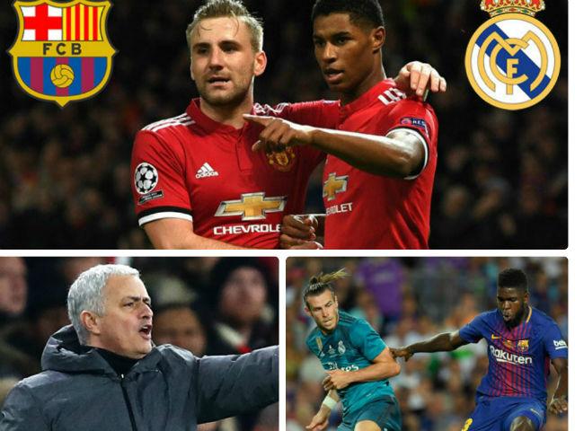 """""""Xâu xé"""" SAO MU, Real - Barca nhận đòn thù từ Mourinho"""