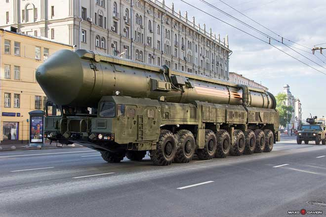 """10.000 binh sĩ Nga cùng tên lửa chiến lược """"sẵn sàng chiến đấu cao độ"""" - 1"""