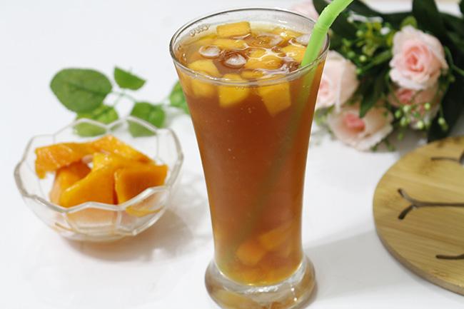 Mùa trái cây tới rồi, tận dụng làm ngay trà nhiệt đới cực hấp dẫn này thôi - 1