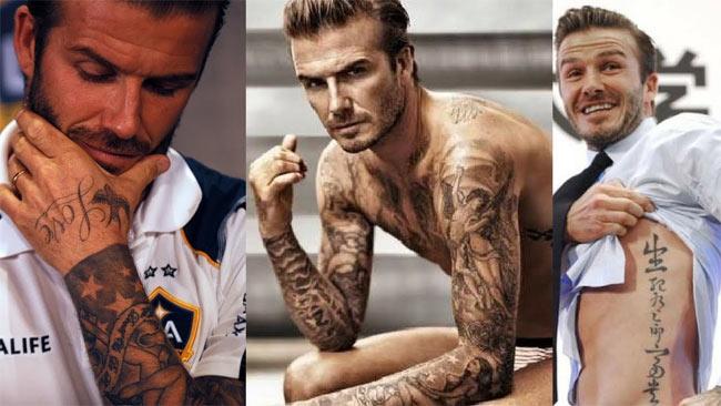 """David Beckham nổi tiếng là ngôi sao nghiện """"mực""""."""