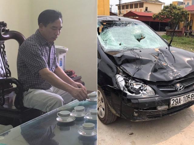 Chủ tịch xã thừa nhận gây tai nạn khiến 4 học sinh thương vong