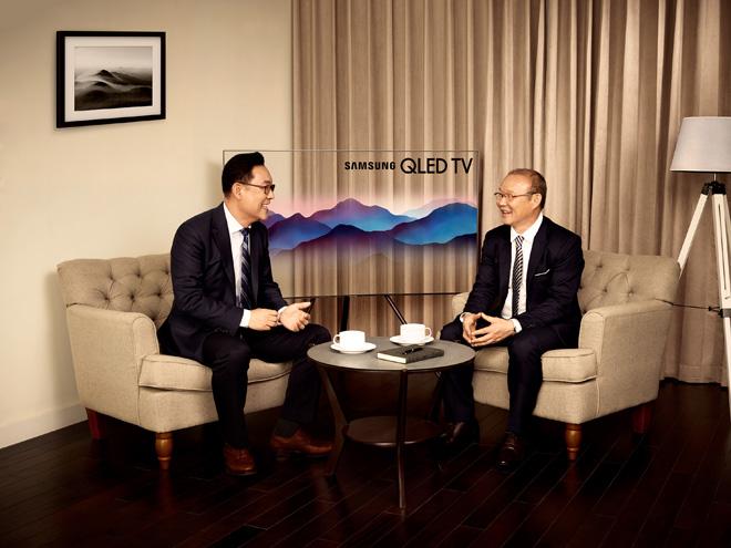 HLV Park Hang Seo chính thức trở thành đại sứ thương hiệu Samsung tại Việt Nam - 1