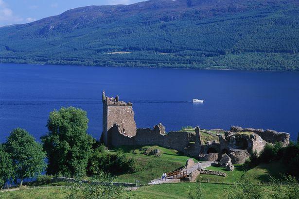 Video: Quái vật hồ Loch Ness tái xuất cùng gia đình? - 1