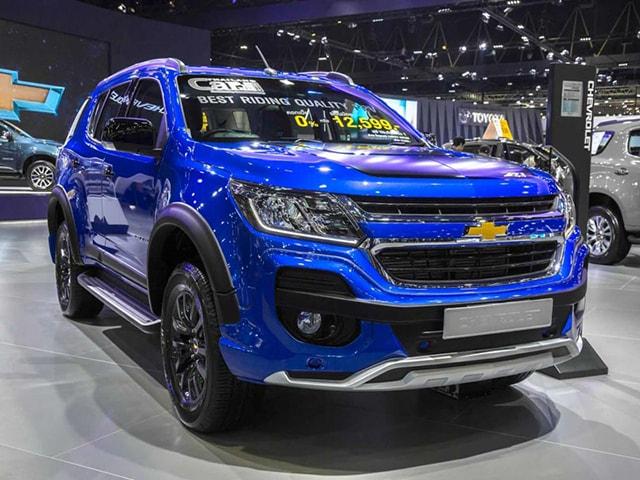 Đối thủ của Toyota Fortuner: Chevrolet Trailblazer LTZ có giá 1,09 tỷ đồng