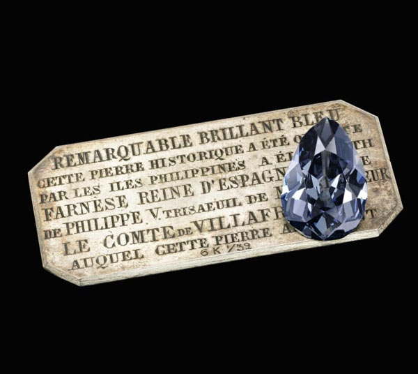 Kim cương xanh hoàng gia lần đầu được bán đấu giá sau 300 năm - 1