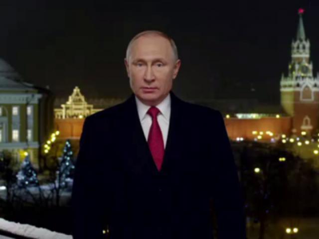 Tổng thống Nga Putin tuyên bố cứng rắn năm mới 2019
