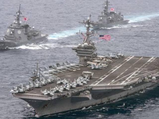 Đô đốc TQ đề xuất đánh chìm 2 tàu sân bay Mỹ khiến 10.000 người thiệt mạng