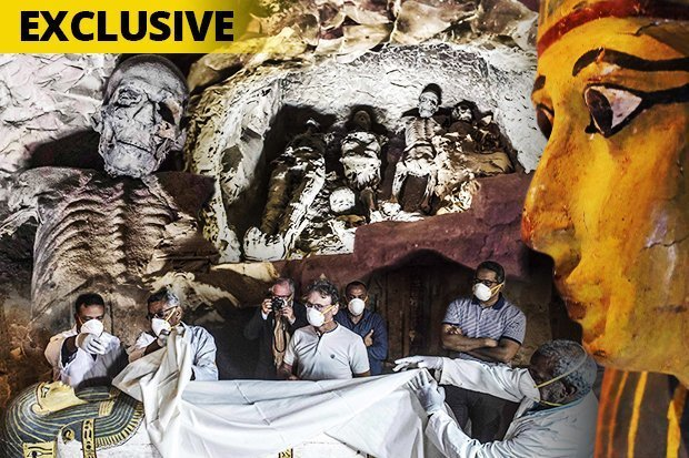 Lời nguyền mở quan tài xác ướp Ai Cập gây chết người liệu có thật? - 1