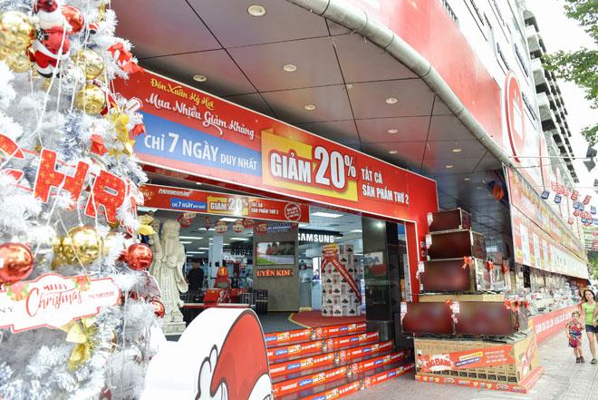 """Nguyễn Kim chào năm mới với khuyến mãi """"khủng""""- Mua càng nhiều càng giảm - 1"""