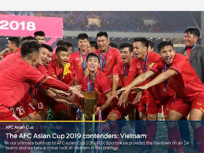 """Báo châu Á đoán ĐT Việt Nam tạo """"địa chấn"""" Asian Cup, Iraq dễ là nạn nhân - 1"""