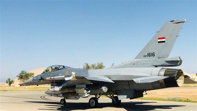 Chiến đấu cơ F-16 Iraq bay vào Syria không kích dữ dội, lấy mạng 30 thủ lĩnh IS - 1