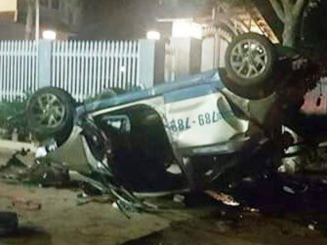 """Tài xế uống rượu bia, lái taxi """"điên"""" gây tai nạn, 3 người chết"""