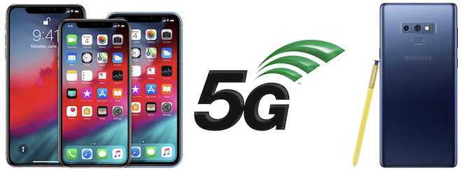 Smartphone Android sẽ thắng iPhone 2019 nhờ 5G - 1