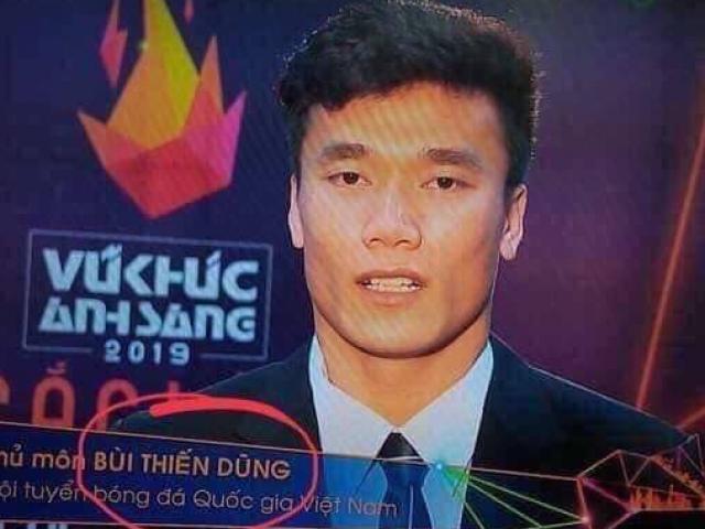 """Bùi Tiến Dũng và SAO Việt """"té ngửa"""" vì sai sót trên truyền hình"""