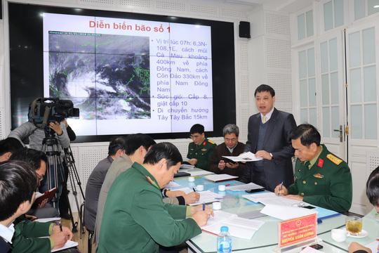 Bão số 1 giật cấp 10 sẽ tiếp tục mạnh thêm, 5 tỉnh phía Nam cấm biển - 1