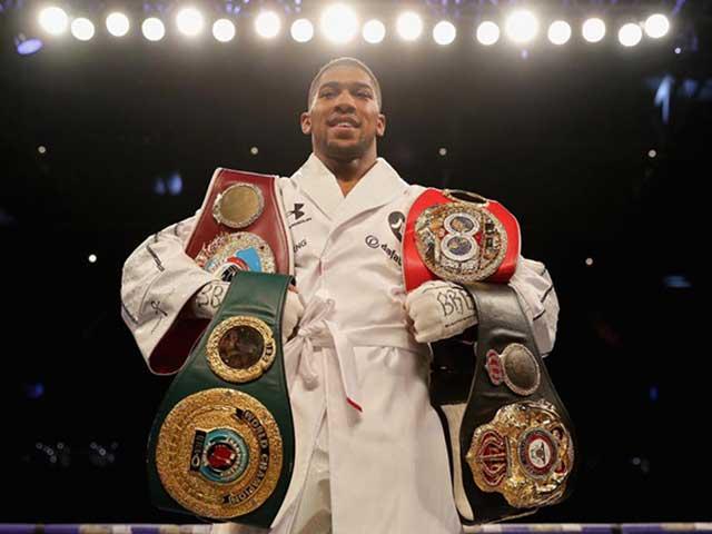 Đại chiến boxing trong mơ 2019: Joshua đấu Wilder, nhất thống 4 đai