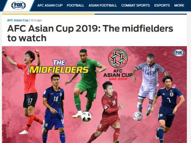 Báo châu Á: Quang Hải hay bậc nhất Asian Cup, sánh ngang SAO gieo sầu Real