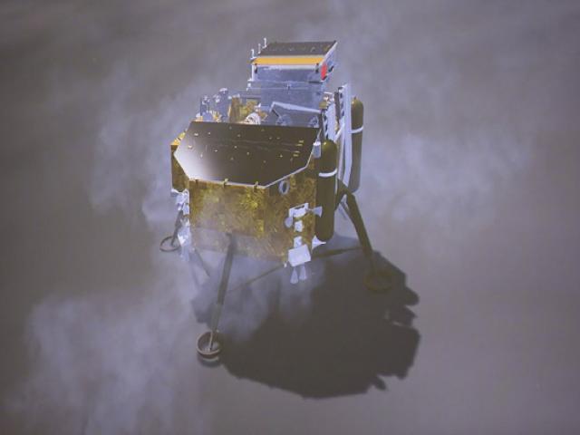 Bức ảnh đầu tiên về phía sau của Mặt trăng, nơi con người chưa từng nhìn thấy