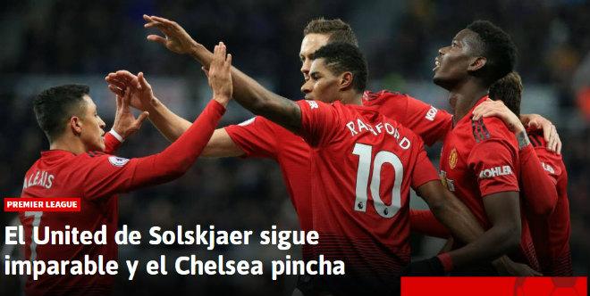 MU - Solskjaer thắng 4 trận liền: Báo Tây Ban Nha, Italia đồng loạt ngả mũ - 1