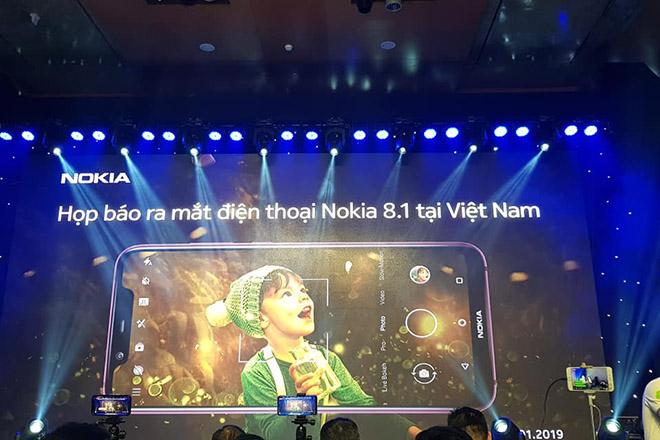 CHÍNH THỨC: Nokia 8.1 ra mắt tại Việt Nam giá 8 triệu đồng, khuyến mãi hấp dẫn - 1