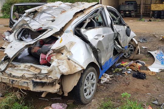 Vụ tai nạn taxi 3 người chết: Nữ tài xế chạy 107 km/h sau tiệc sinh nhật - 1