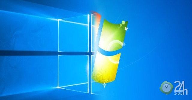 Cuối cùng Windows 10 đã vượt Windows 7 trở thành hệ điều hành PC phổ