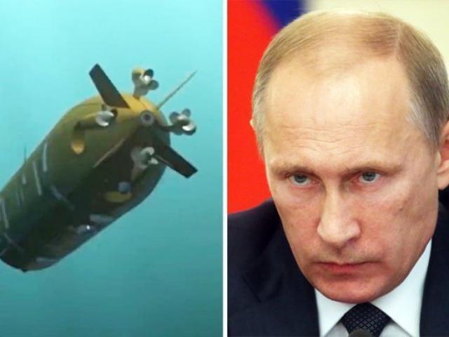 """Nga khoe vũ khí hủy diệt bờ biển, có thể tạo """"sóng thần"""" cao 500m"""