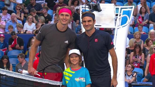 Federer - Zverev: Siêu sao rực sáng, lên đỉnh cùng mỹ nhân - 1
