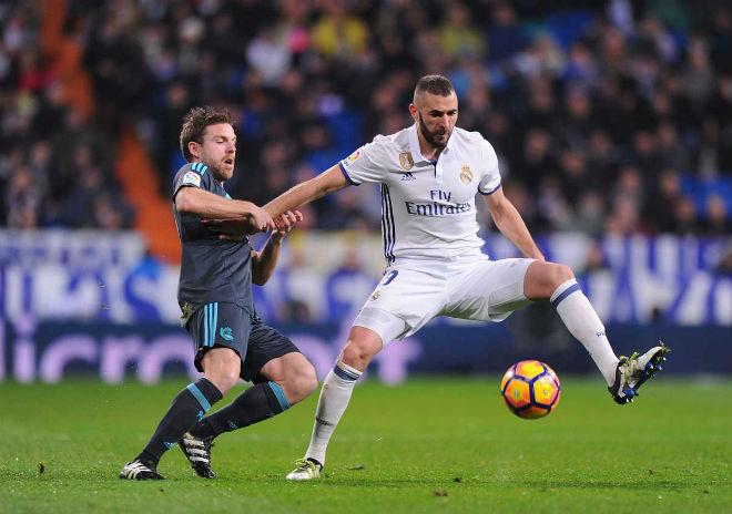 """Real Madrid - Sociedad: Vua châu Âu cậy sân nhà bắt nạt """"tý hon"""" - 1"""
