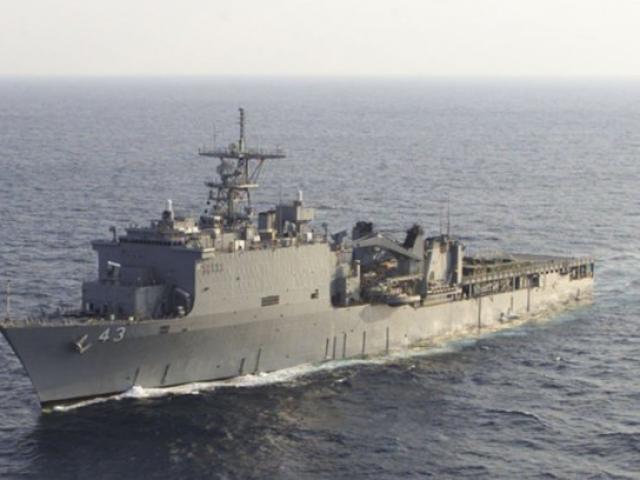 Tàu chiến Mỹ lần đầu tiến vào Biển Đen sau vụ Nga bắt tàu Ukraine