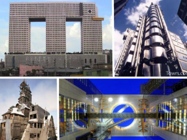 Những tòa tháp dị nhất thế giới khiến du khách hoang mang