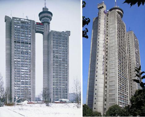 Những tòa tháp dị nhất thế giới khiến du khách hoang mang - 1