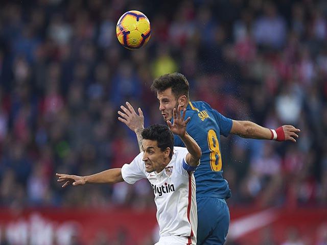 Video, kết quả bóng đá Sevilla - Atletico: Ngôi sao đọ súng, rượt đuổi kiệt cùng