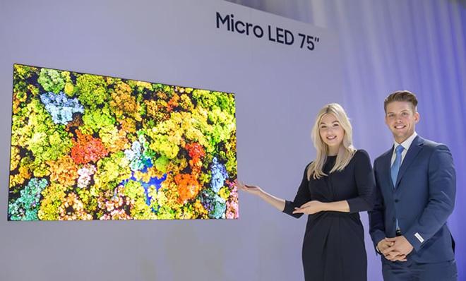 Samsung hé lộ màn hình công nghệ mô-đun Micro LED đột phá tại CES - 1