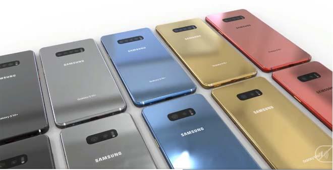 """Galaxy S10 gây """"choáng"""" với thiết kế thú vị và cụm camera chất chưa từng có - 1"""