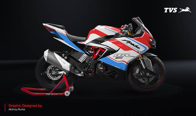 """Sportbike TSVApache RR 310 """"biến hóa"""" trong màu áo mới, đẹp xuất sắc - 1"""