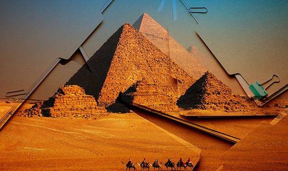 """Tài liệu mật hé lộ phát hiện """"không thể giải thích"""" về kim tự tháp Ai Cập - 1"""