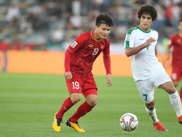 Quang Hải tả xung hữu đột, bị cầu thủ Iraq chơi xấu