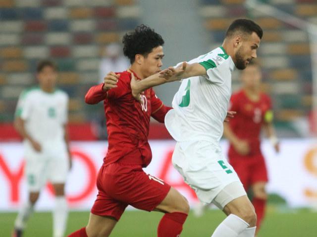 Trực tiếp Asian Cup Việt Nam - Iraq: Sức ép nghẹt thở