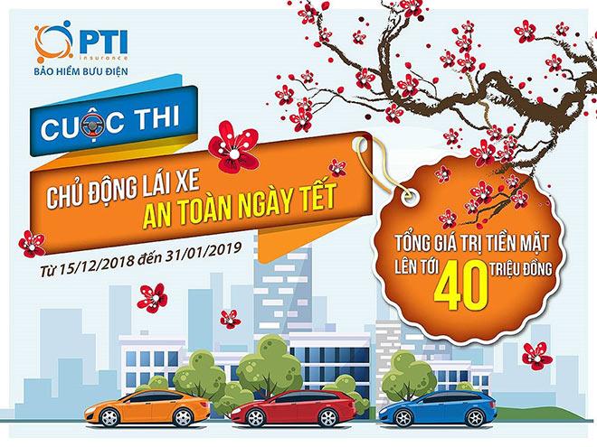 Chia sẻ kinh nghiệm lái xe an toàn, nhận thưởng lên đến 40 triệu đồng cùng PTI - 1