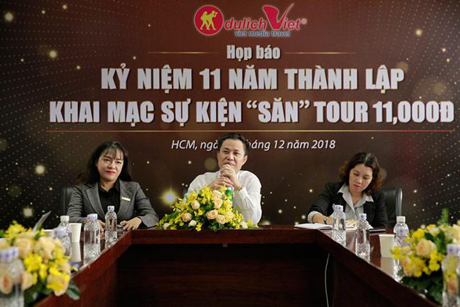 Du lịch Việt dành tặng 1,100 vé dịch vụ tour 11,000đ - 1