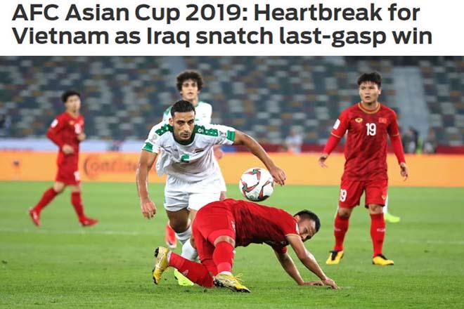 """Việt Nam thua phút 90: Báo Iraq hoảng hồn với trận thắng """"sinh tử"""" - 1"""