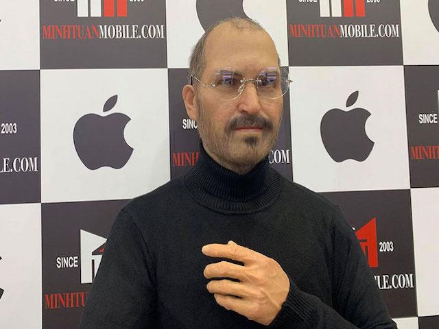 Tượng sáp huyền thoại Steve Jobs bất ngờ xuất hiện tại Việt Nam