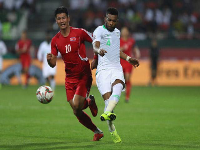 """Asian Cup, Saudi Arabia - Triều Tiên: Tưng bừng 4 bàn, thẻ đỏ & siêu phẩm """"mở khóa"""""""