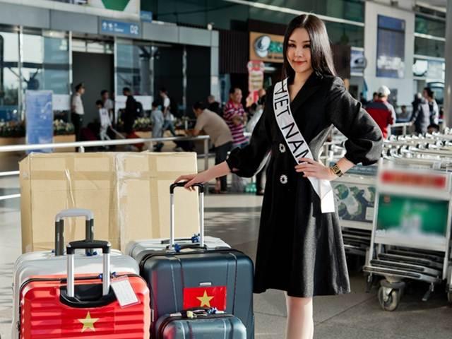 Dù không được cấp giấy phép, Lê Âu Ngân Anh vẫn thi Hoa hậu Liên lục địa