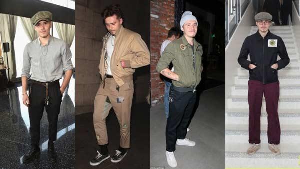 Quý tử nhà Beckham và gu mặc già hơn cả bố - 1